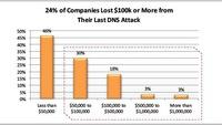 Nhiều doanh nghiệp điêu đứng trước các cuộc tấn công DNS