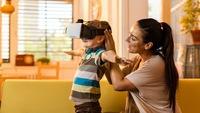 Thiết bị thực tế ảo có thể gây hại sức khỏe trẻ em