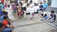 Con trẻ sống cùng chung cư nên cho chơi với nhau
