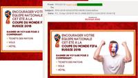Mua 'vé mời' World Cup, coi chừng tiền mất tật mang