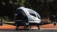 Drone chở người tự động đầu tiên trên thế giới