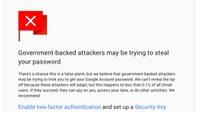 Cảnh báo mới của Google với tài khoản Gmail