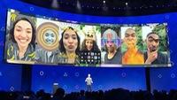 Ứng dụng Facebook có công nghệ tăng cường-thực tế AR
