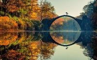 Vẻ đẹp tại 'cây cầu ma quỷ' ở Đức