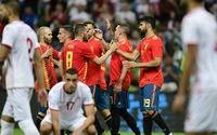 Tây Ban Nha thắng nhọc nhằn Tunisia trước thềm World Cup