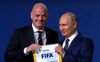 Nước Nga chào đón World Cup 2018