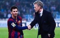 """David Moyes """"nổ"""" tưng bừng sau trận thắng Barca"""