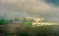 Bát Xát ruộng bậc thang mùa nước đổ