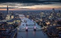 Ngắm London tuyệt đẹp từ trên cao