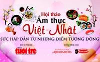 Nét tương đồng trong ẩm thực Việt -Nhật