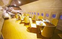 Nhà hàng máy bay 'có 1 không 2' ở Ấn Độ