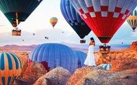 Ảnh khinh khí cầu đẹp như mơ ở Thổ Nhĩ Kỳ