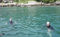 Đi bộ dưới đáy biển ngắm san hôở Cù Lao Chàm