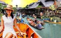 Du lịch làm hồi sinh chợ nổi Thái Lan