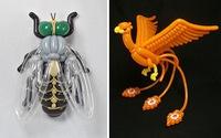 Nghệ sĩ Nhật tạo hình chim, ong, bướm... từ bong bóng