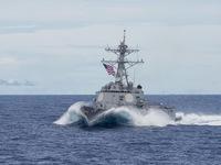 Mỹ nắn gân Trung Quốc, lại cho tàu chiến qua eo biển Đài Loan