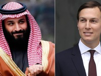 """Con rể ông Trump tư vấn Thái tử Saudi """"cách vượt qua bão tố"""""""