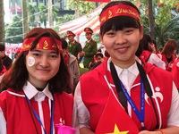 Lễ hội hoa đào chào mừng người hiến máu tình nguyện