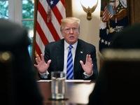 """Ông Trump gây tranh cãi vì dùng chữ """"súc vật"""" nói về nhóm dân nhập cư xấu xa"""