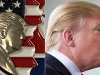 Ông Trump bị tố 'trẻ quá đáng' trên tiền xu kỷ niệm