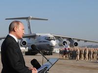 """Tổng thống Putin: Syria cho quân đội Nga kinh nghiệm chiến đấu """"hiếm có"""""""