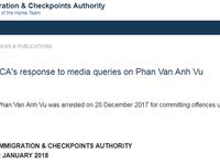 Luật sư Singapore gặp Phan Van Anh Vu