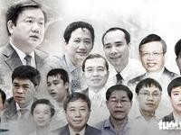 Mức án đề nghị với ông Đinh La Thăng và 21 đồng phạm