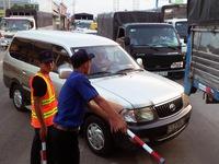 T2 BOT Quốc lộ 91 lại xả trạm vì kẹt xe do tài xế phản đối - ảnh 2