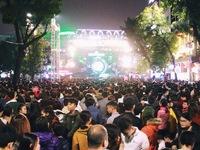 Hết bán bia tại lễ hội âm thanh, ánh sáng giao thừa
