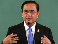 """Thủ tướng Thái Lan răn đe trừng phạt kẻ tung tin """"đảo chính"""""""