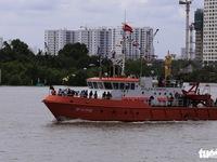 Bàn giao 2 tàu tuần tra, 10 canô cao tốc cho Bộ đội biên phòng TP.HCM