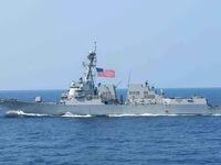 Mỹ thách thức Trung Quốc, điều hai chiến hạm hải quân qua eo biển Đài Loan