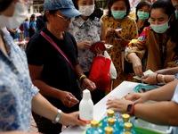 Thái Lan ấn định giá khẩu trang chỉ gần 2.000 đồng/chiếc