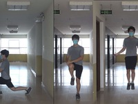 Cuộc thi 'Lan tỏa năng lượng tích cực 2021': Tập thể dục tại nhà để nâng cao sức khỏe trong mùa dịch