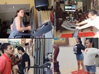 Cuộc thi 'Lan tỏa năng lượng tích cực 2021': Cả nhà cùng chạy bộ 'thêm sức khỏe - lùi dịch bệnh'