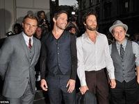 Jason Orange hội ngộ nhóm Take That
