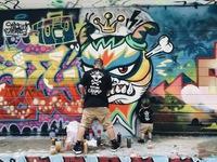 Việt Max vẽ tranh tường lấy cảm hứng từ Star Wars