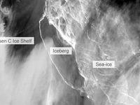 Lo âu với tảng băng trôi khổng lồ từ Nam Cực