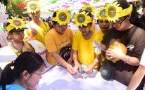 385 ước nguyện của bệnh nhi được thực hiện tại ngày hội Hoa hướng dương