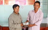 Anh thợ mộc Vĩnh Long trả 38 triệu đồng cho người đánh rơi