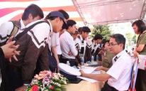 Điểm nhận hồ sơ xét tuyển ĐH, CĐ của nhóm trường quân đội năm 2020