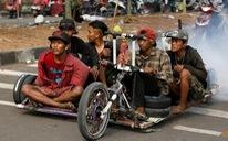 Những chiếc xe Vespa không đụng hàng ở Indonesia
