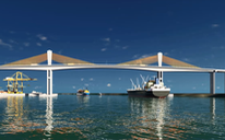 Xây cầu Phước An gần 5.000 tỉ đồng, nối cảng Cái Mép - Thị Vải với cao tốc