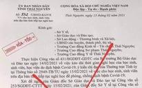 Giả danh chủ tịch UBND tỉnh đã nghỉ hưu ký văn bản cho học sinh nghỉ học vì COVID-19