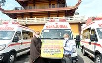 Thêm 10 xe cứu thương cho các bệnh viện điều trị COVID-19