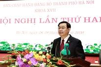 Bí thư Hà Nội Vương Đình Huệ: 'Đổi mới tư duy để phát triển, không quyền anh, quyền tôi'