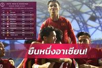 Việt Nam trụ hạng 92, Thái Lan tụt 16 bậc sau vòng loại World Cup 2022