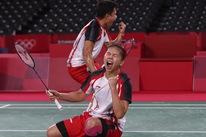 Đánh bại đôi Trung Quốc, Indonesia giành HCV cầu lông Olympic