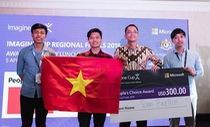 Imagine Cup Châu Á 2018: Sinh viên ĐH Duy Tân giành giải Sản phẩm bình chọn nhiều nhất
