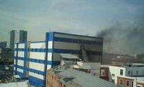 Cháy trung tâm thương mại Nga, ít nhất một người chết